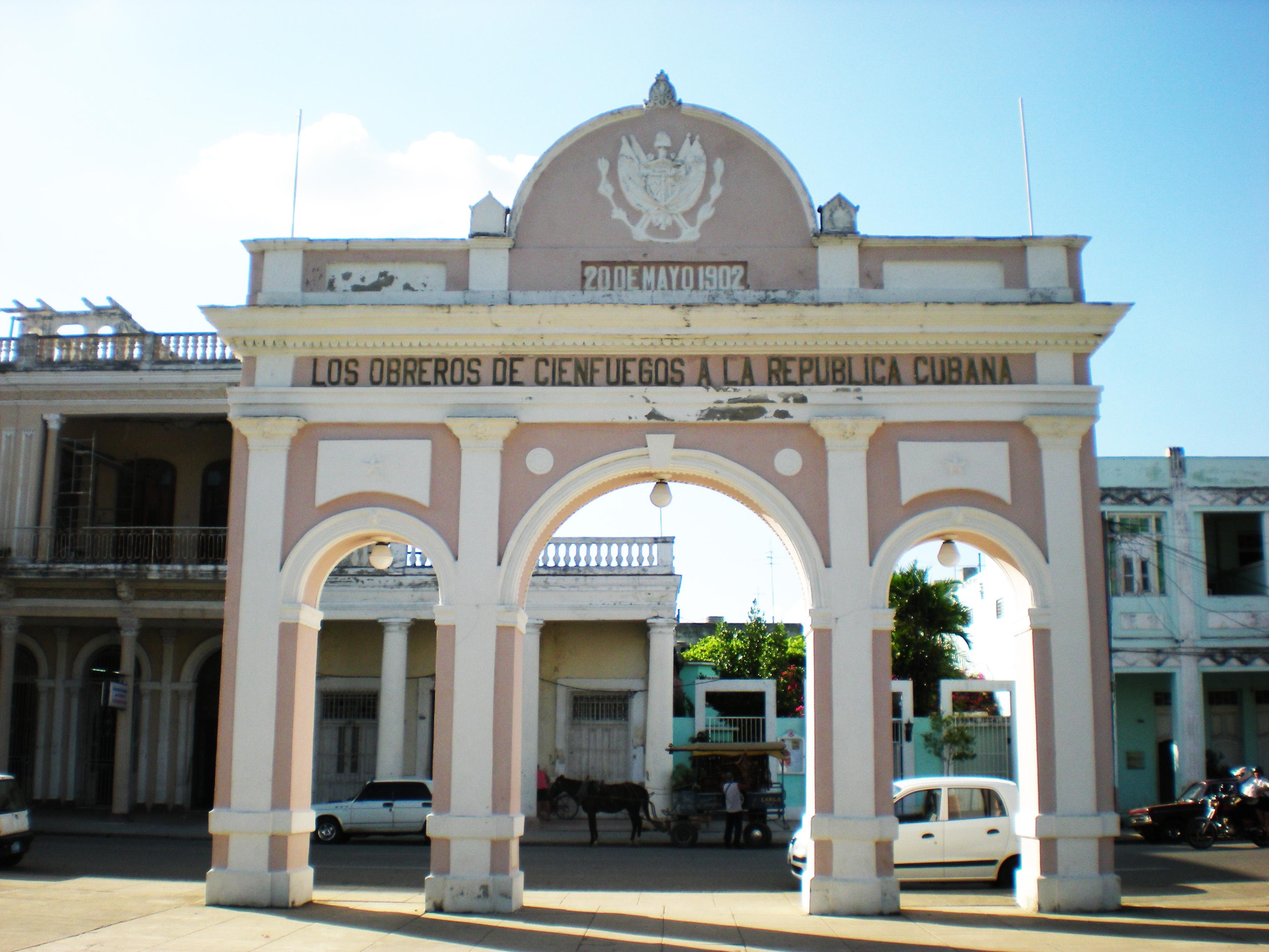 Visitare Cuba, Cienfuegos