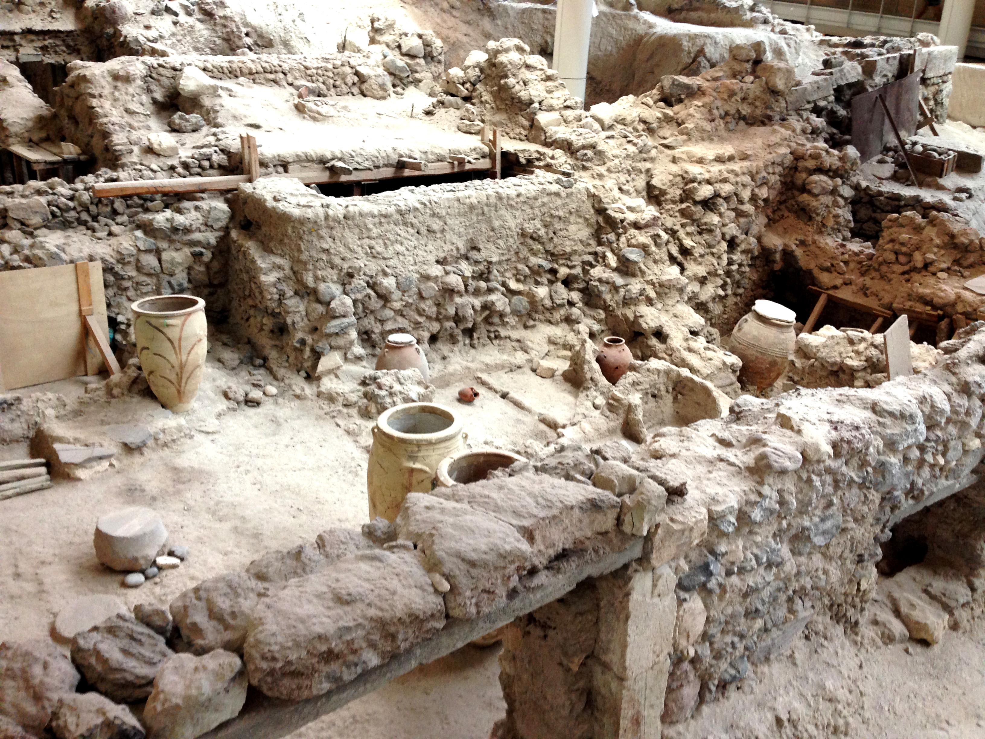 Rovine di Akrotiri
