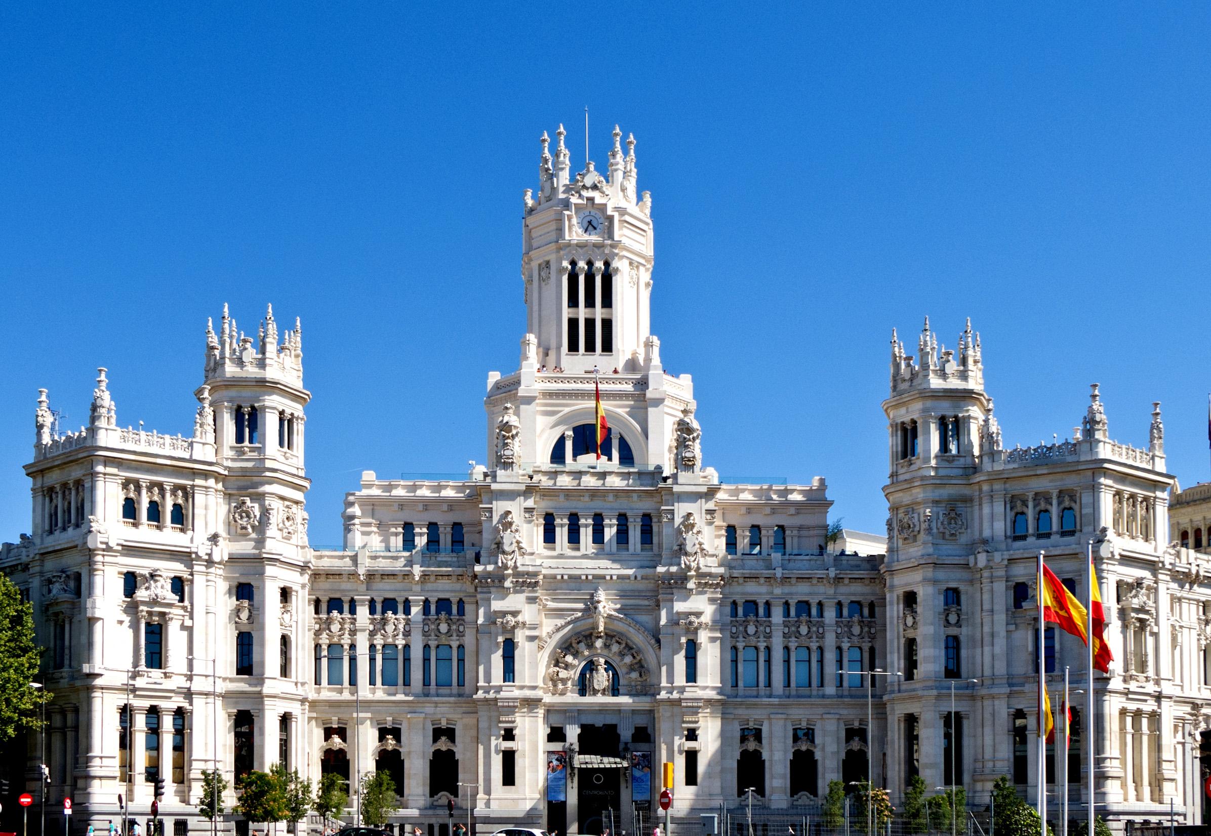 Cosa vedere a Madrid: municipio