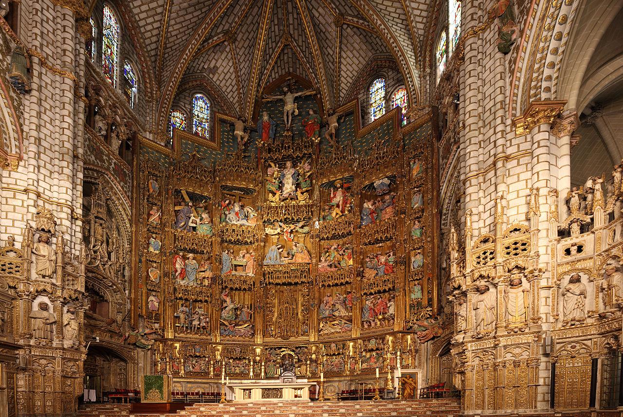 Cattedrale Toledo Interno