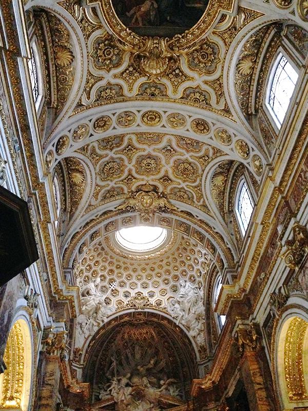 Soffitto navata centrale