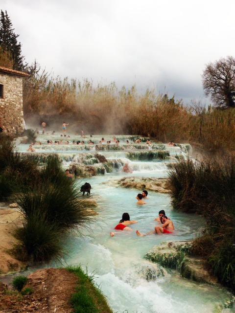 idee per un weekend in Toscana: Saturnia