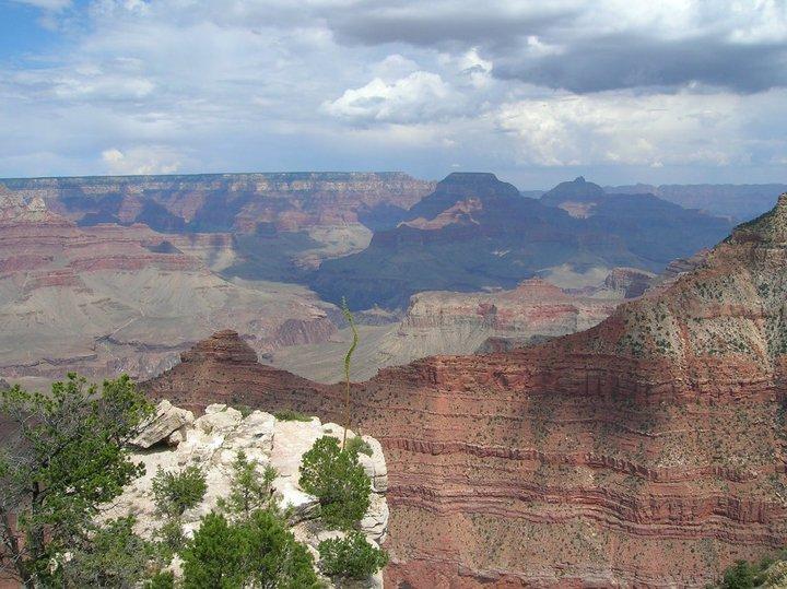 L 39 incredibile spettacolo del grand canyon sara l for Grand canyon north rim mappa della cabina