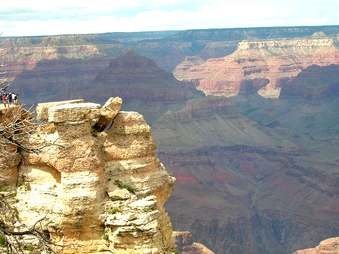 Vista sul Grand Canyon