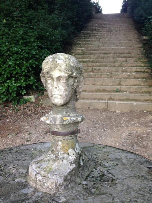 Statua Giano bifronte