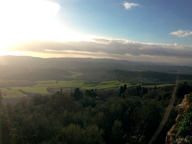w end in Toscana: valdorcia