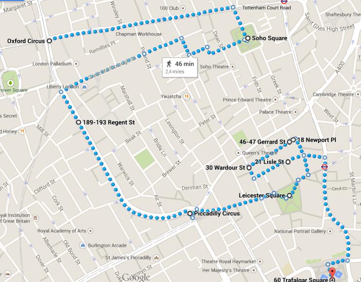 Londra in 4 giorno: itinerario 1