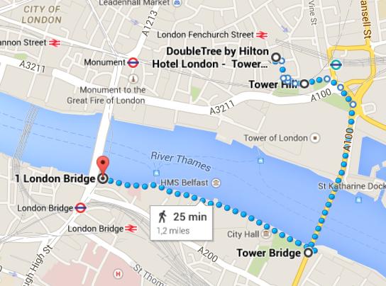 Londra in 4 giorni: itinerario 1.3