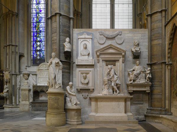 Westminster Abbey - L'angolo dei poeti