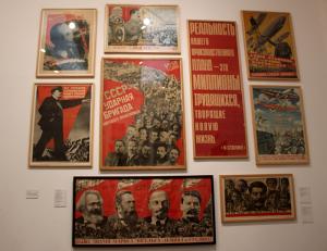 Poster della Russia rivoluzionaria