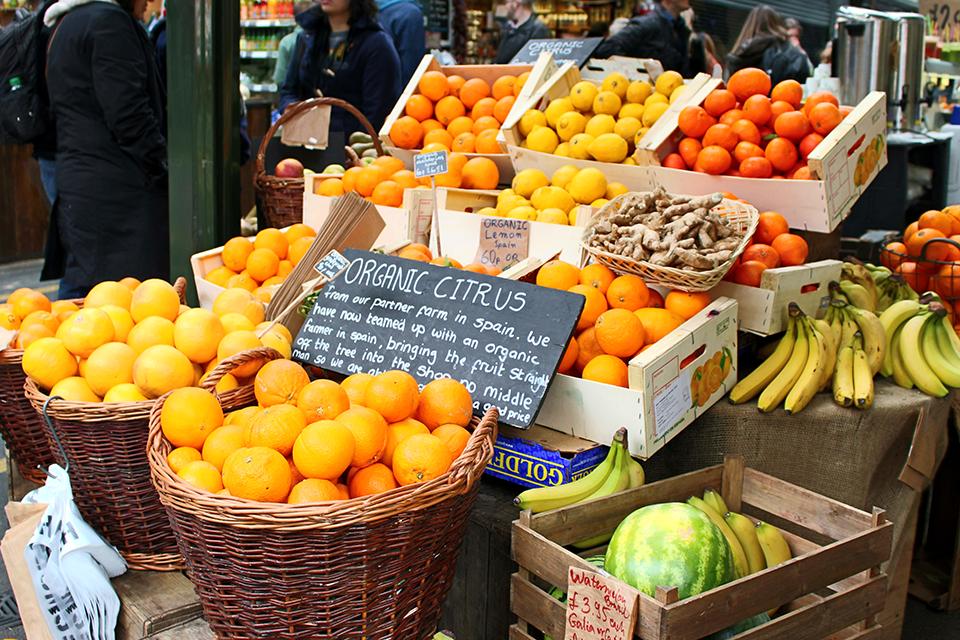 Banco di frutta