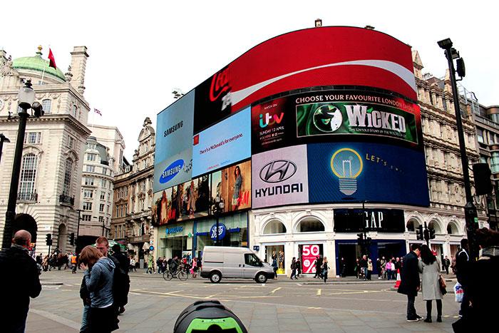 Londra in 4 giorni parte uno for Time square londra