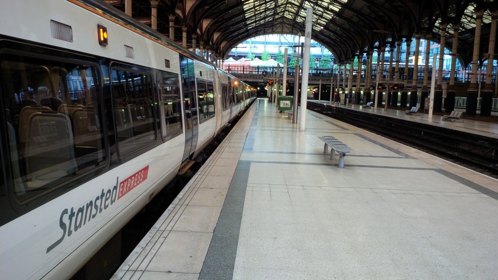 Stansted Express Liverpool Street