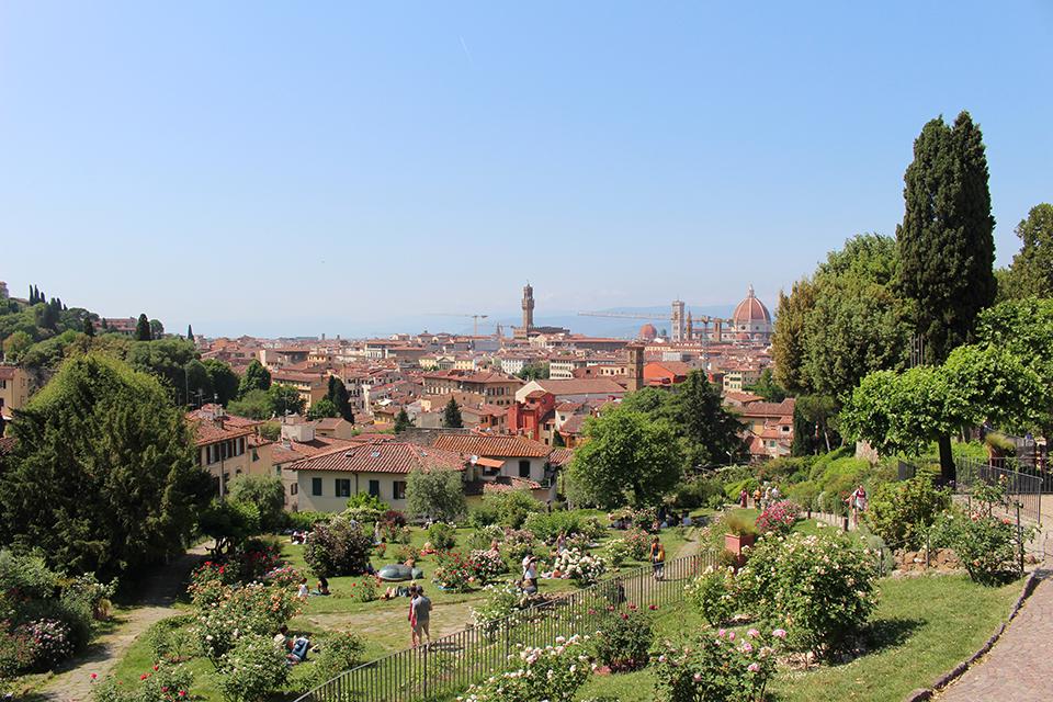 Firenze il giardino delle rose - Il giardino delle rose ...