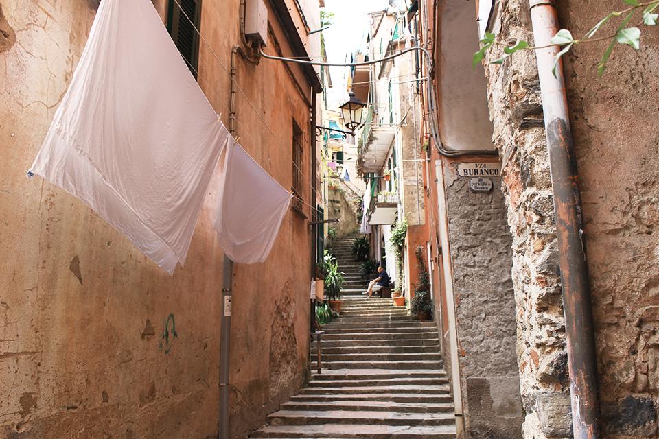 Per le strade di Monterosso