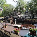Vivere su una houseboat ad Amsterdam