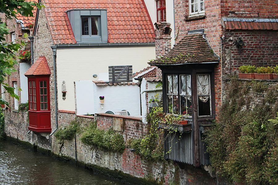 per i canali di Bruges