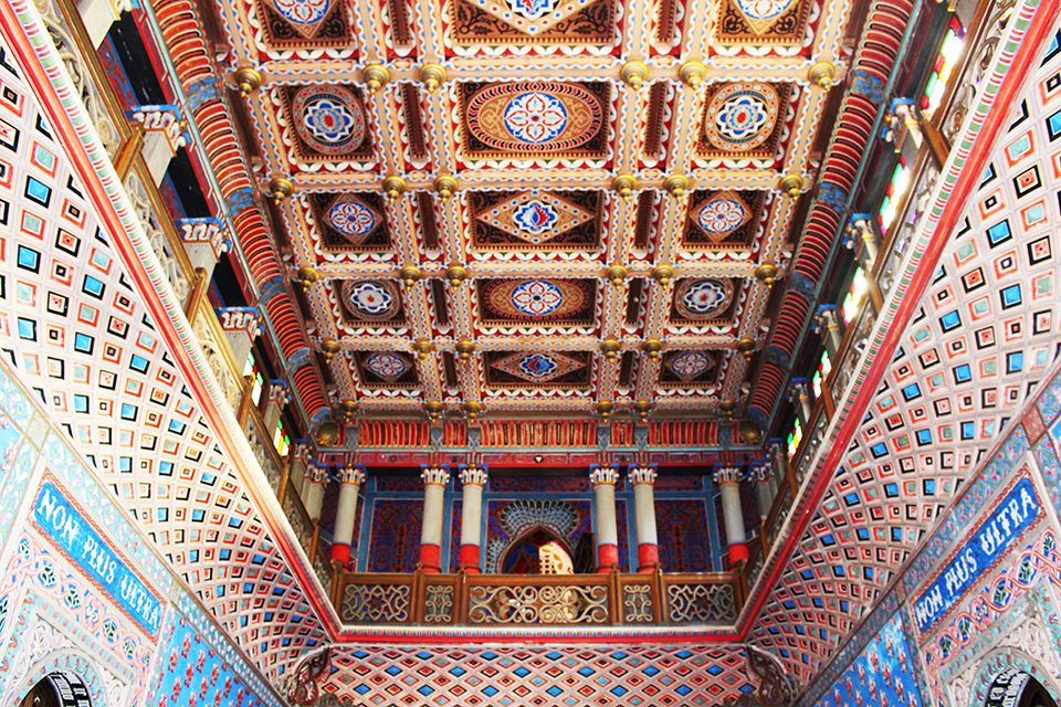 soffitto sala d'ingresso