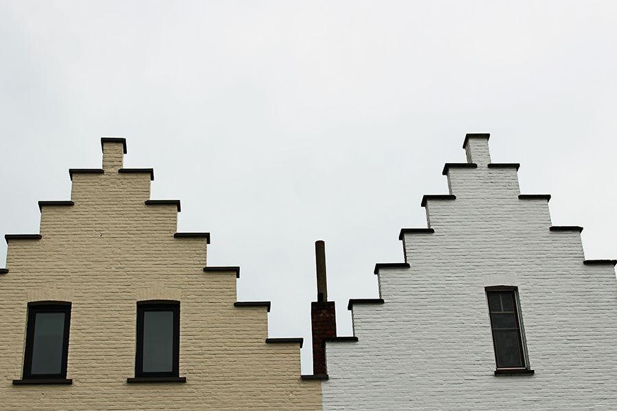 i tetti di Damme