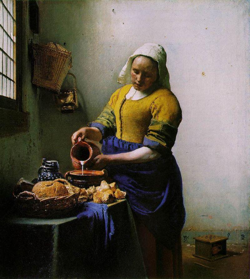 La lattaia - Vermeer