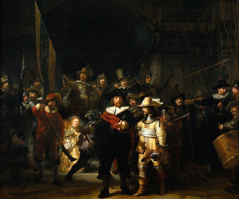 La ronda di notte - Rembrandt