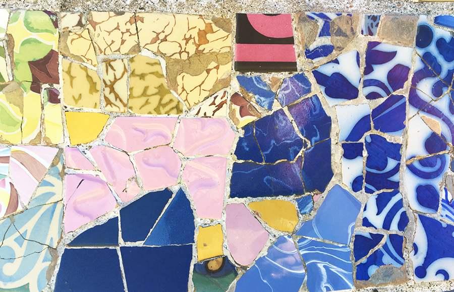 mosaici parc guell