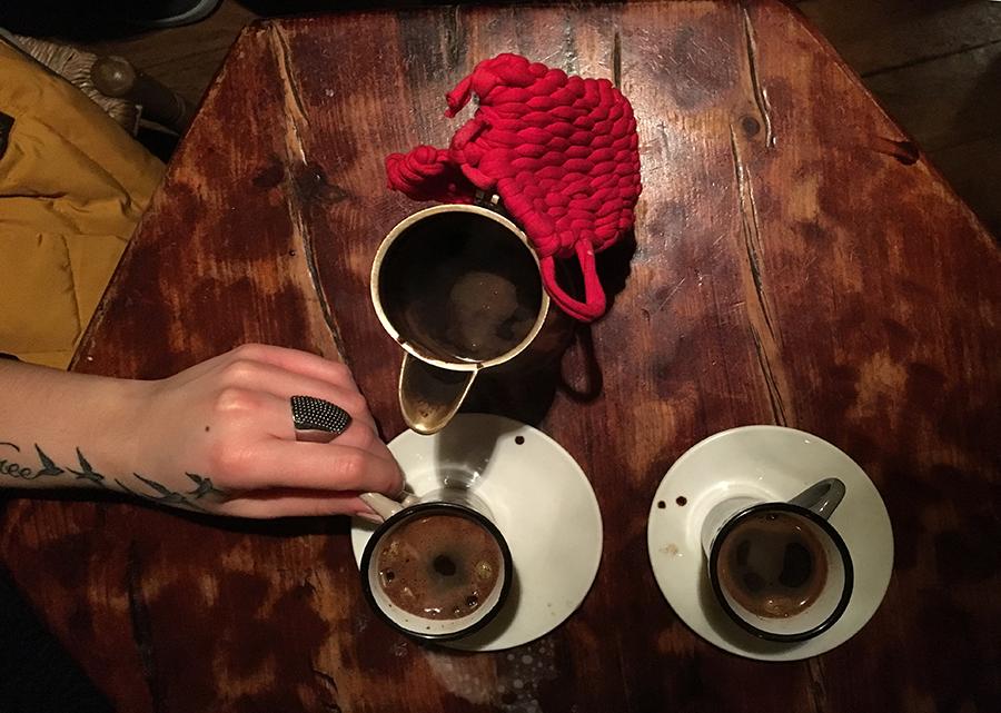 caffè turco a Barcellona