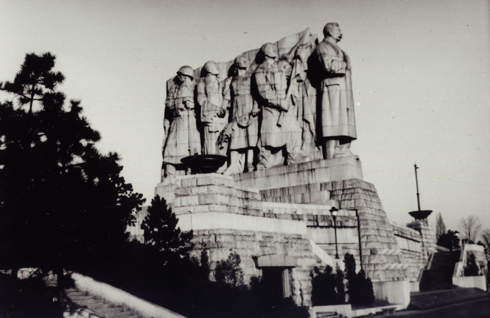 statua Stalin Praga