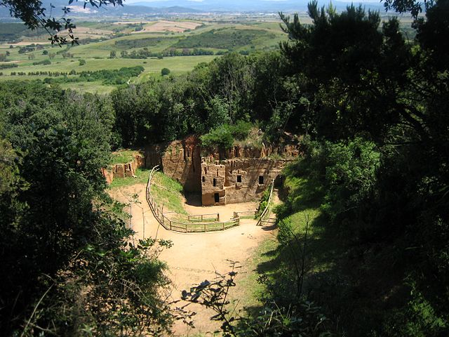 weekend in toscana: populonia