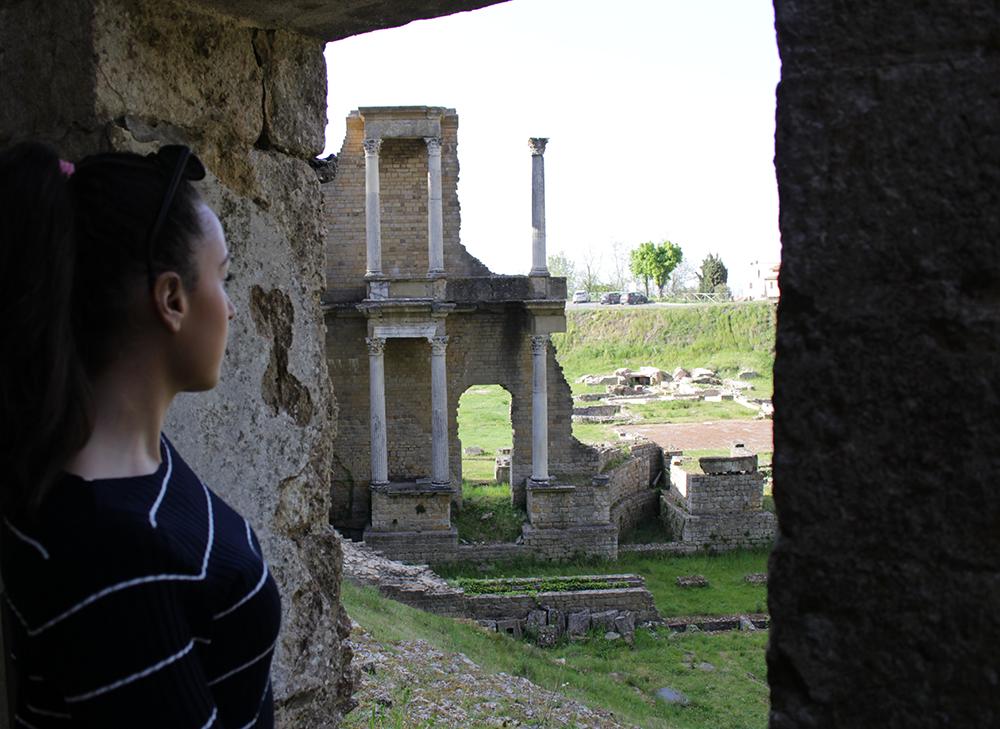 volterra cosa vedere: tempio romano