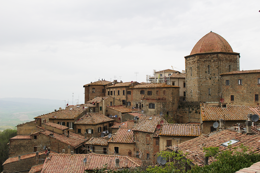 visitare Volterra in Toscana: panorama