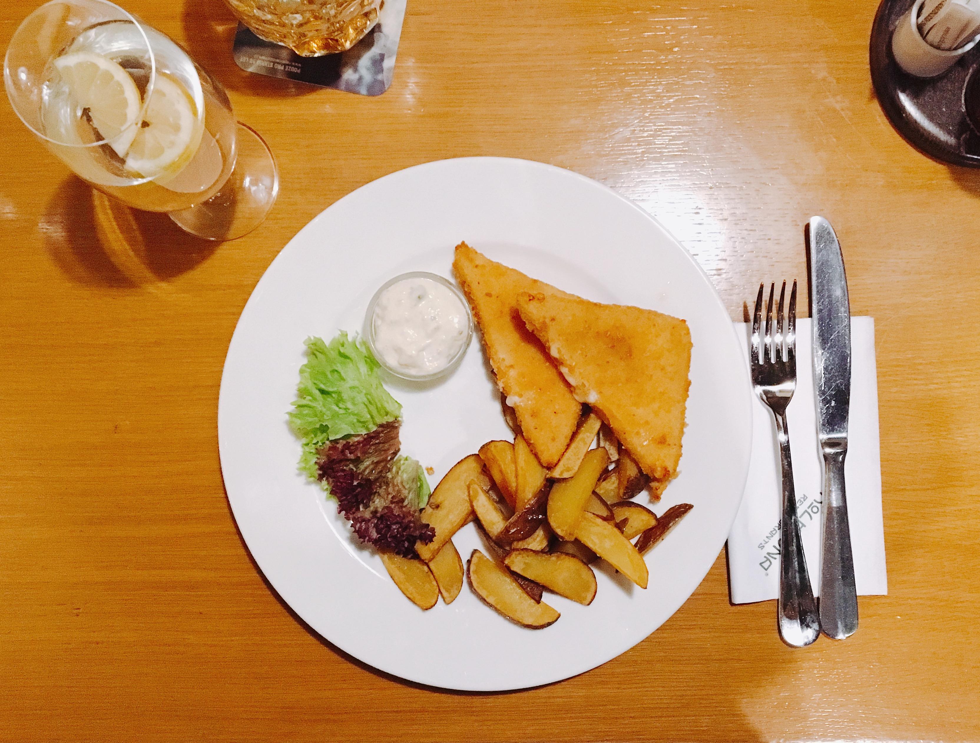 Cosa mangiare a Praga: formaggio fritto