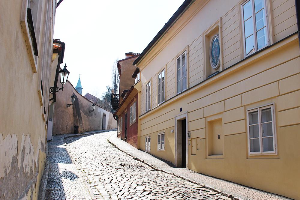 il quartiere di Nový Svět