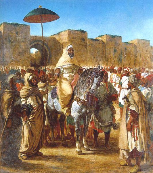 Sultano del Marocco - Delacroix