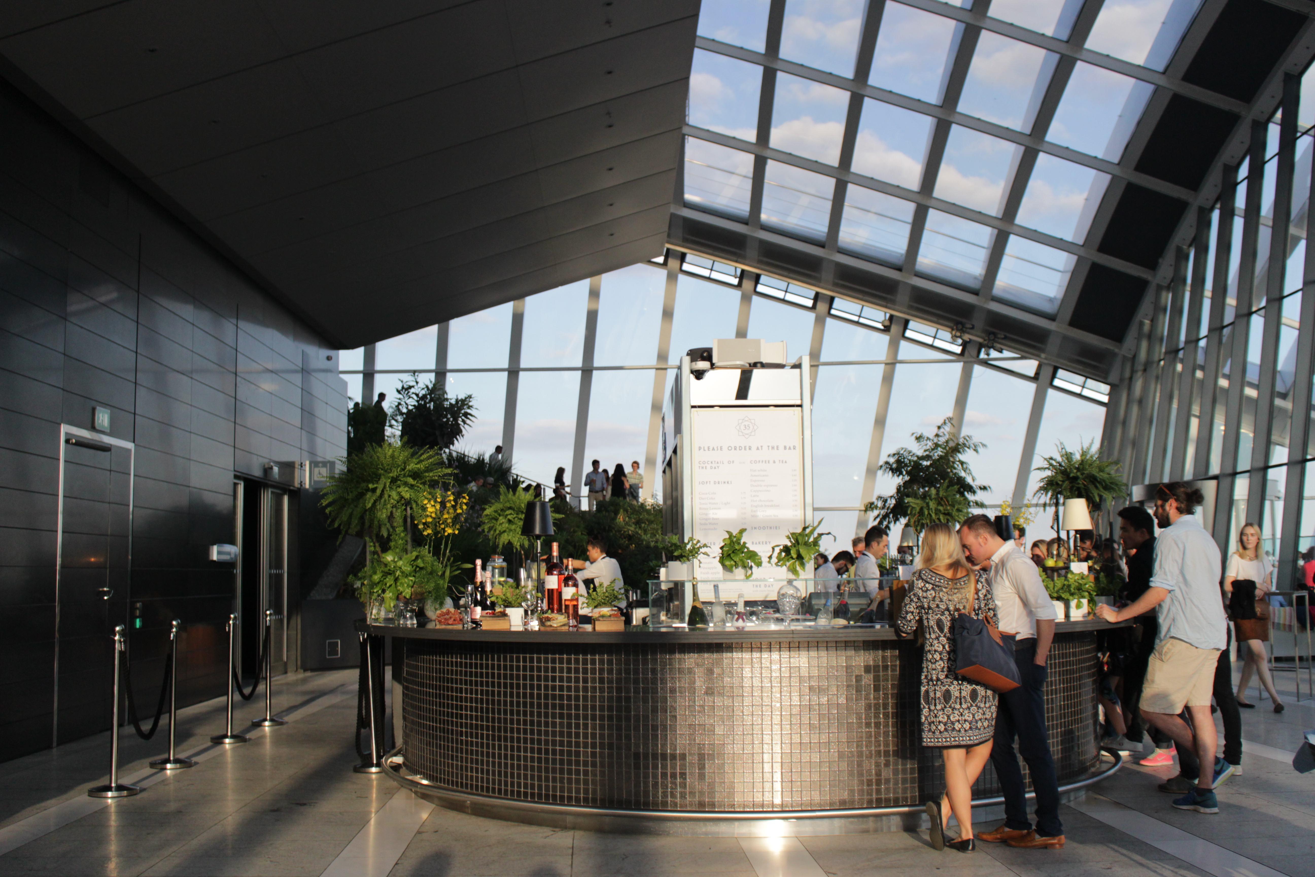 Sky Garden londra bar