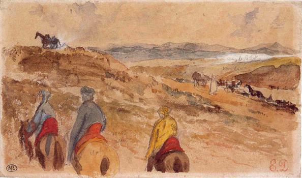 taccuino Marocco Delacroix