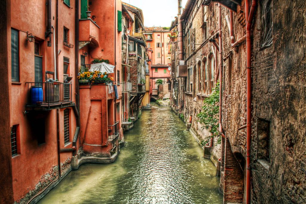 bologna in un giorno: Canale delle Moline