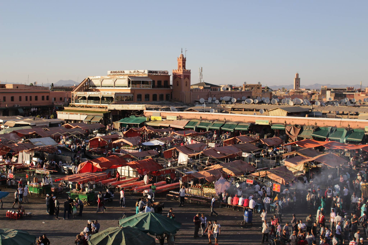 piazza Jemaa El Fna - Marrakech
