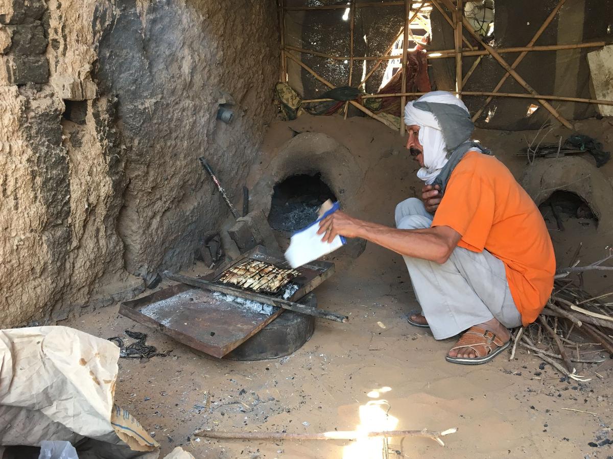 berbero nel deserto