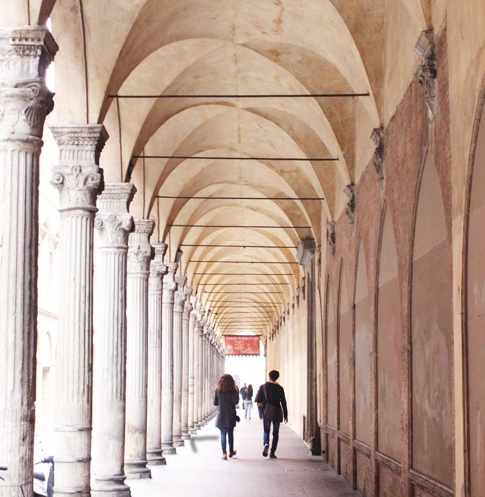 cosa vedere a Bologna: i portici