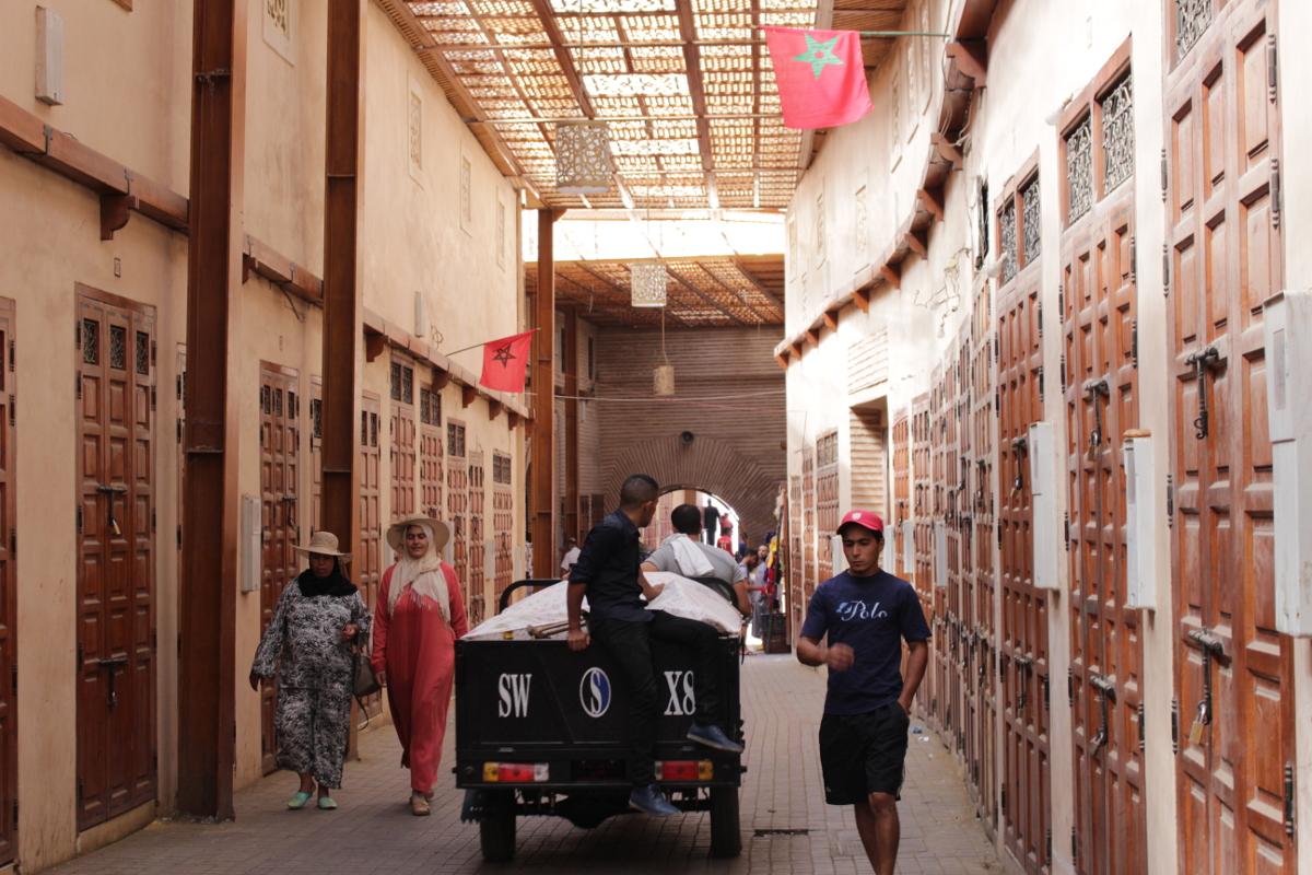 nella Mellah di Marrakech