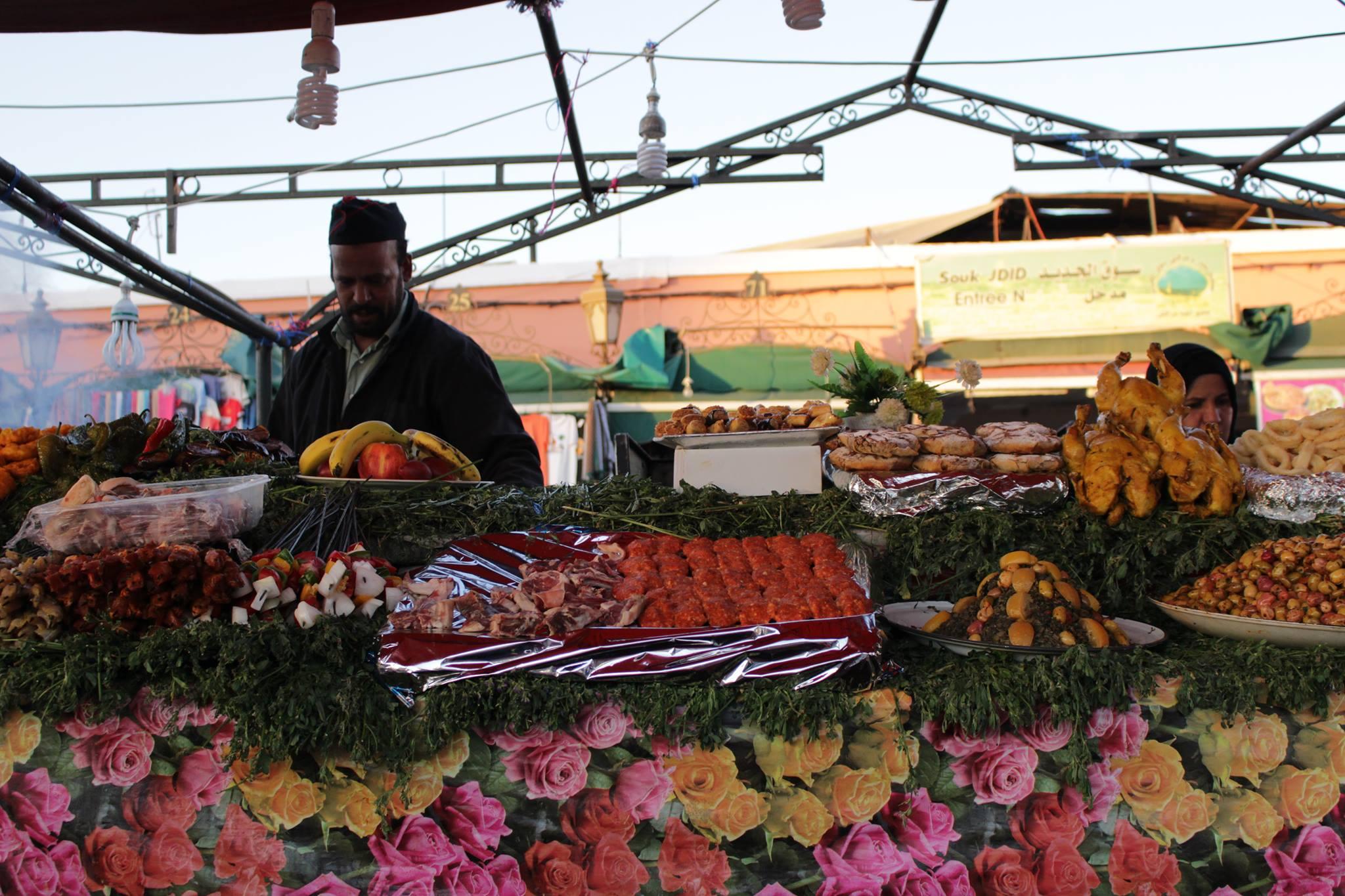 mangiare in Marocco