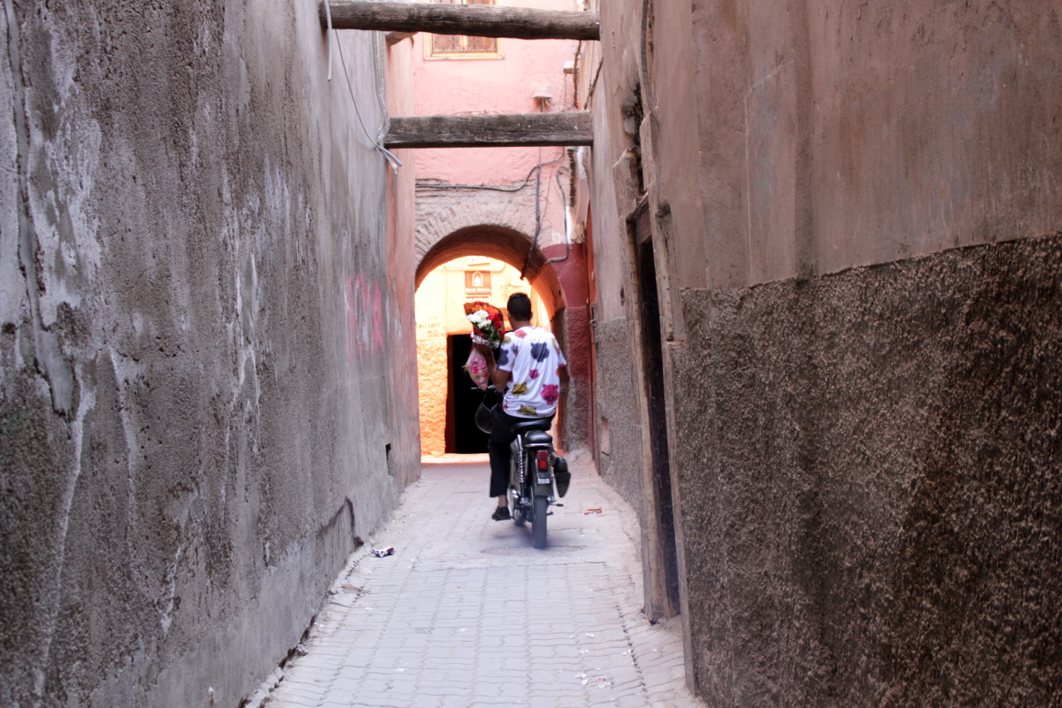per le via di Marrakech