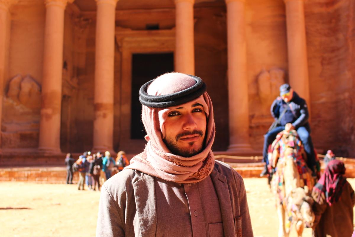 beduino di Petra