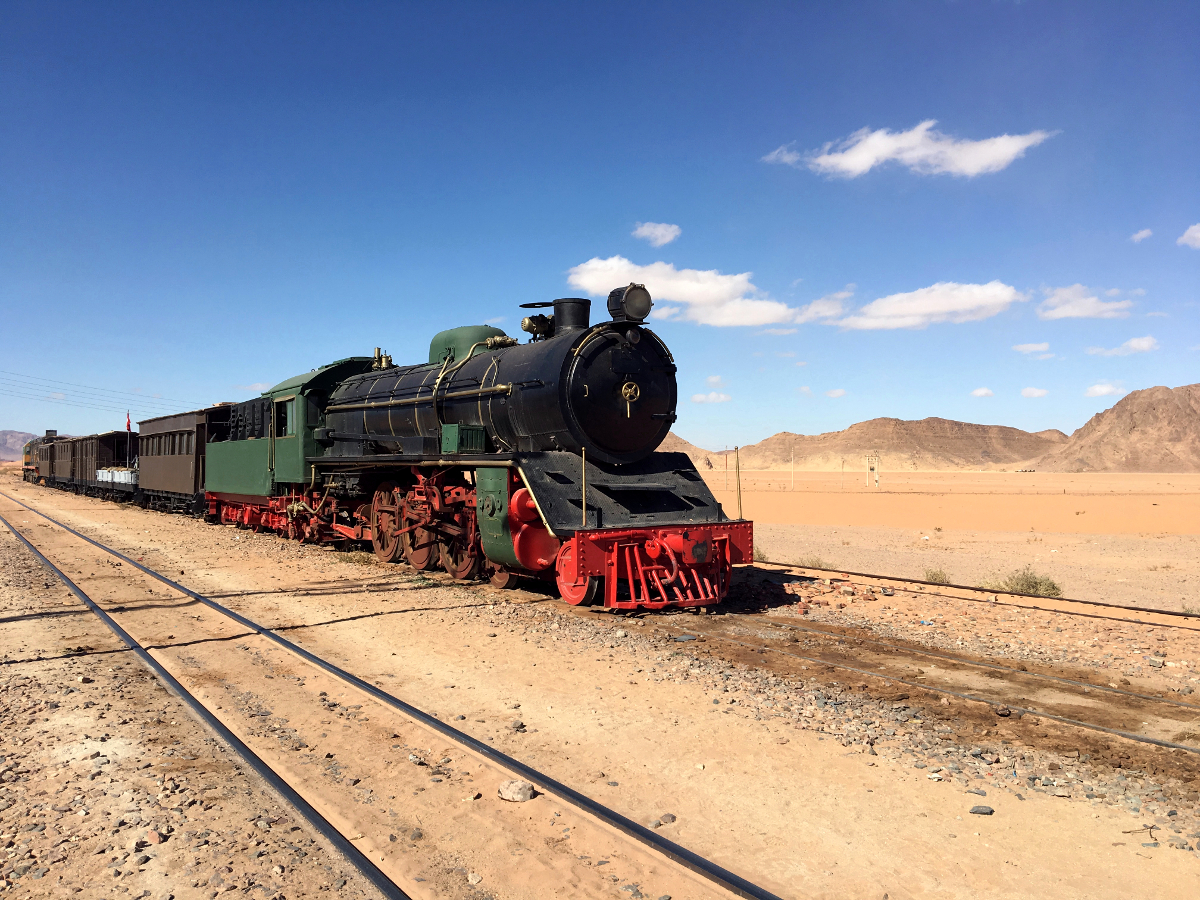 il treno di Lawrence d'Arabia