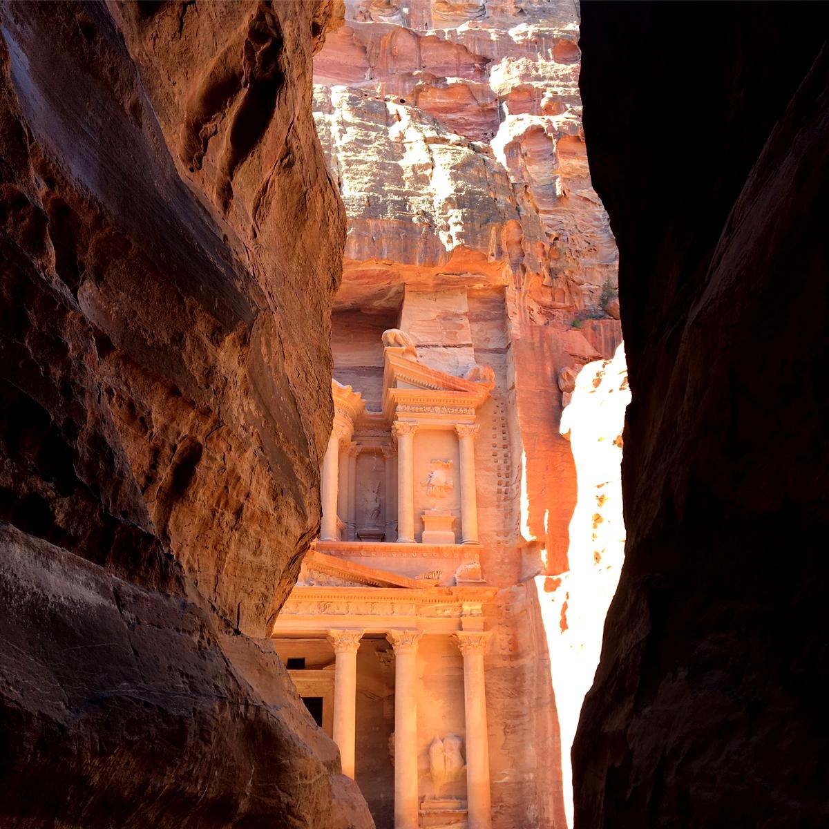 Visitare Petra: il Tesoro