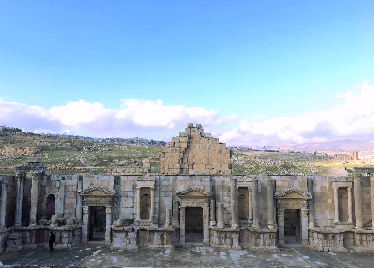 teatro sud jerash