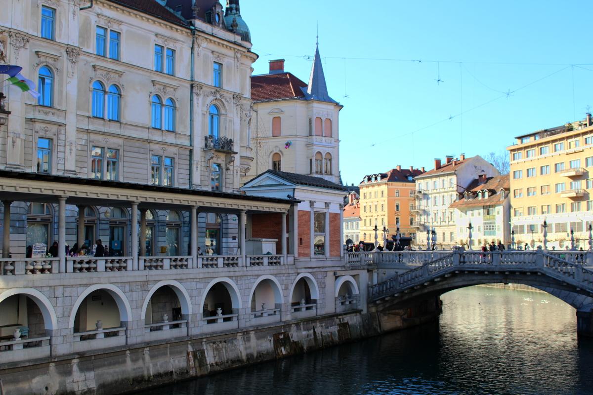 visitare la Slovenia - Lubiana