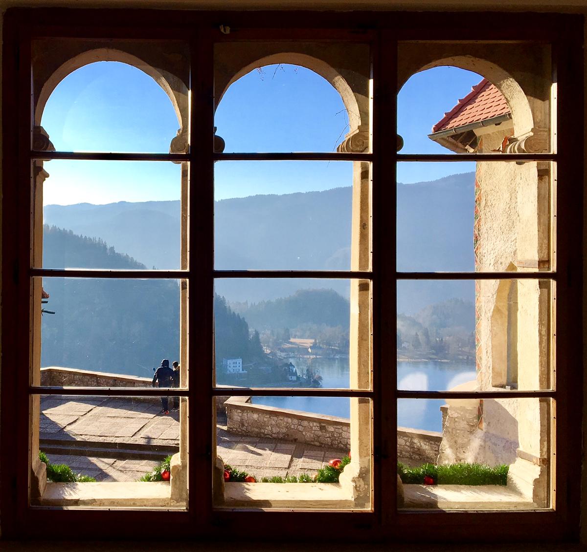 dal castello di Bled Slovenia