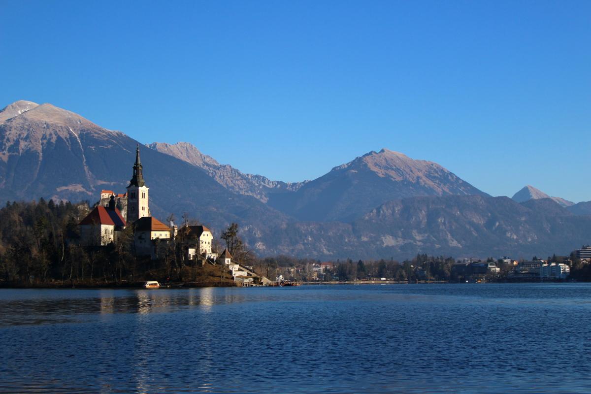 visitare la Slovenia - lago di bled